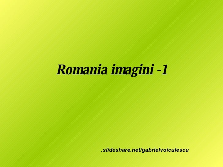 Romania Imagini  1
