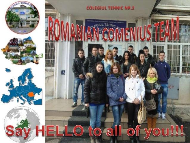 Romanian comenius team
