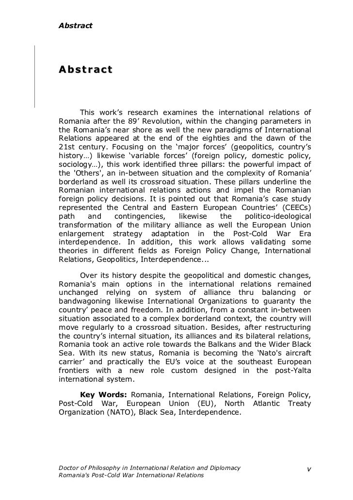canadian foreign relations cold war Canada, the congo crisis, and un peacekeeping, 1960-64 introduction 1 prelude to crisis: setting the stage for canadian involvement.