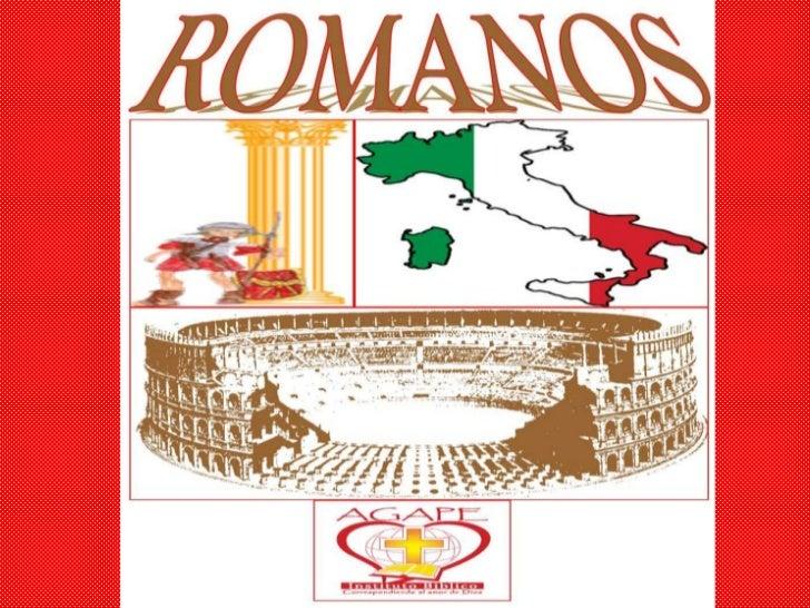 Romanos Cap#1 -2011