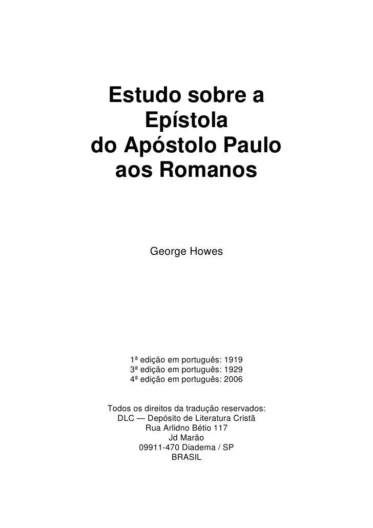 Romanos George Howes