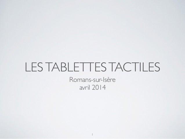 LESTABLETTESTACTILES Romans-sur-Isère avril 2014 1