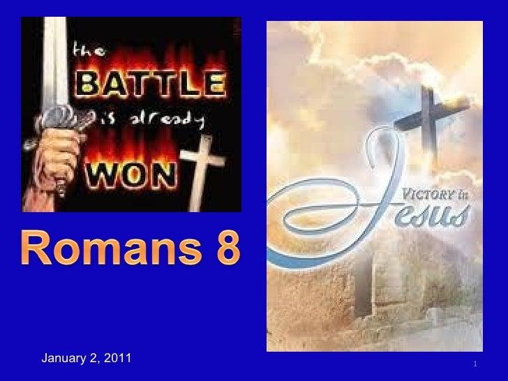 Romans 8a  NO CONDEMNATION
