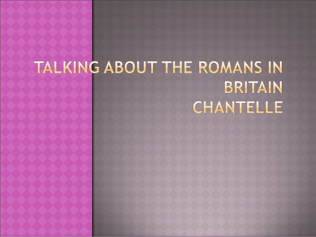Romans powerpoint chantellep4