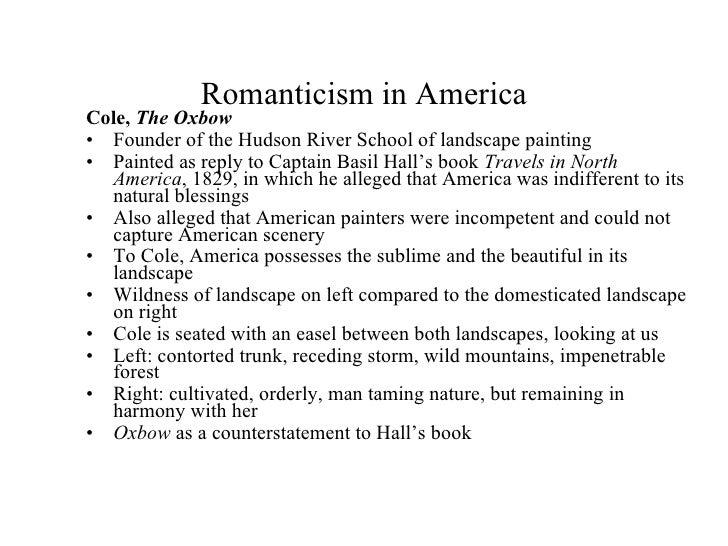 Romanticism elements?