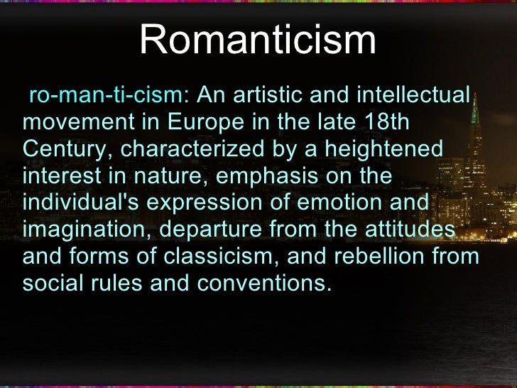 themes in romantic poetry Several common themes flow through poetry of the romantic period the poets, either through conscious or unconscious efforts share similar hopes, fears, and.