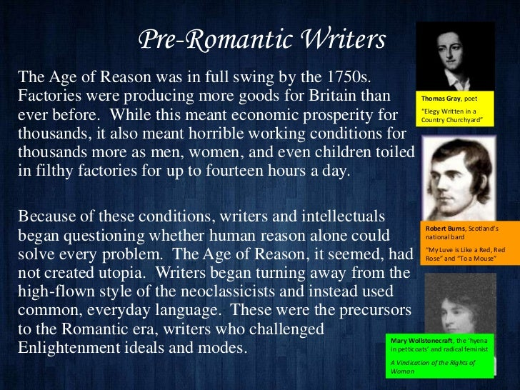 Difference in Male and Female Writing Styles of the Romantic Period?