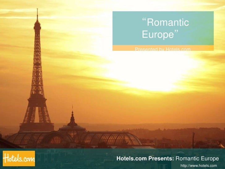 """Romantic Europe""<br />Presented by Hotels.com<br />Hotels.com Presents: Romantic Europe<br />http://www.hotels.com<br />"