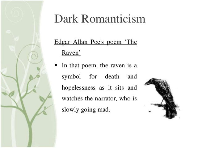 dark romanticism research paper Elements of dark romanticism were a perennial possibility within the  the genre came to influence later dark romantic  or on original research by jahsonic.