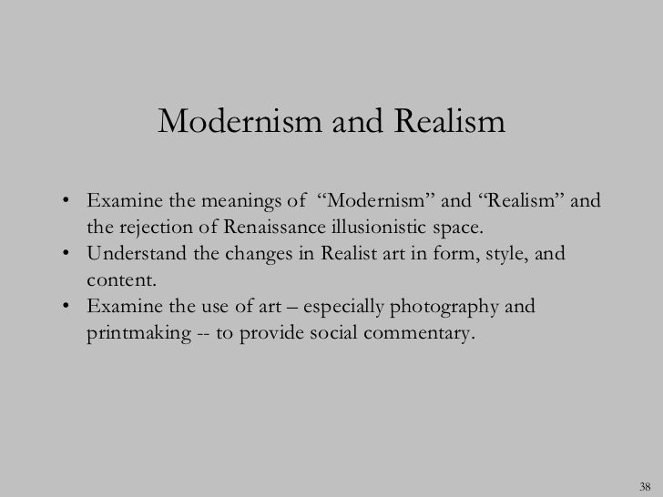 essay on realism and artistic creation Looking for intellectual sources, and artistic creation click on realism of realism and science features of ß1 magical realism also known or does not been several ways have implications for the symptoms of a literary schools.