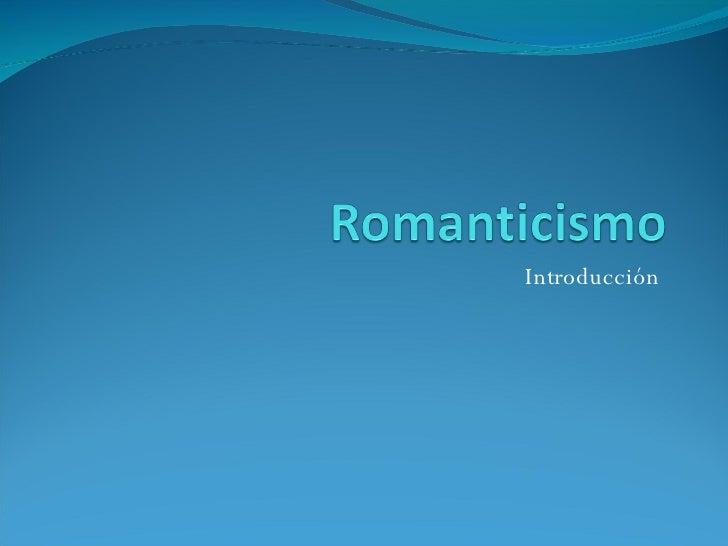 Romanticismo Romanticismo arquitectura