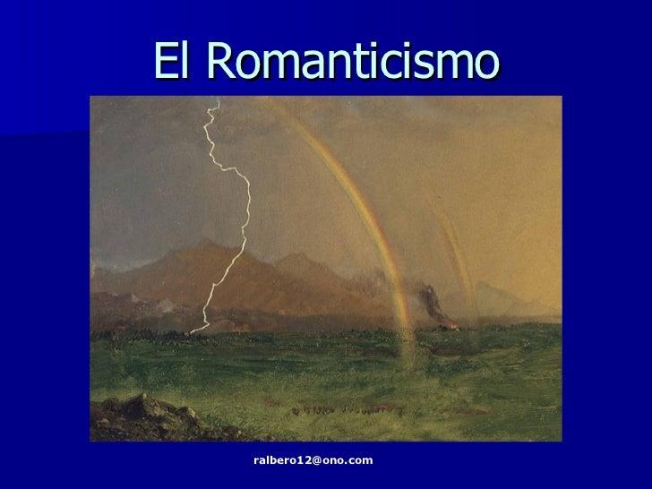 Romanticismo Contexto