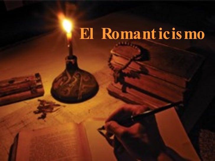 El Romant icismo