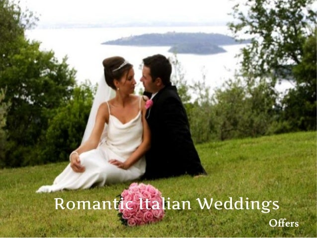 Weddings In Italy : Package & Offers