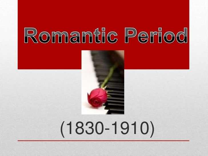 Romantic Period Unit