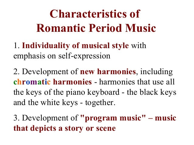 music that is romantic essay Companion to the gothic (2000), a collection of essays by various hands  2 of  the heritage of music (1990), on romantic music throughout.