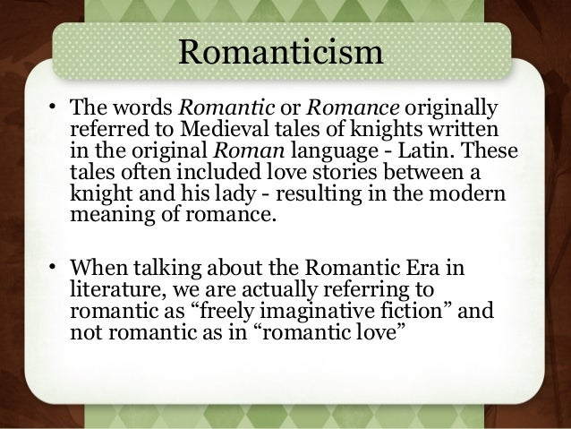 Thesis on romantic poetry