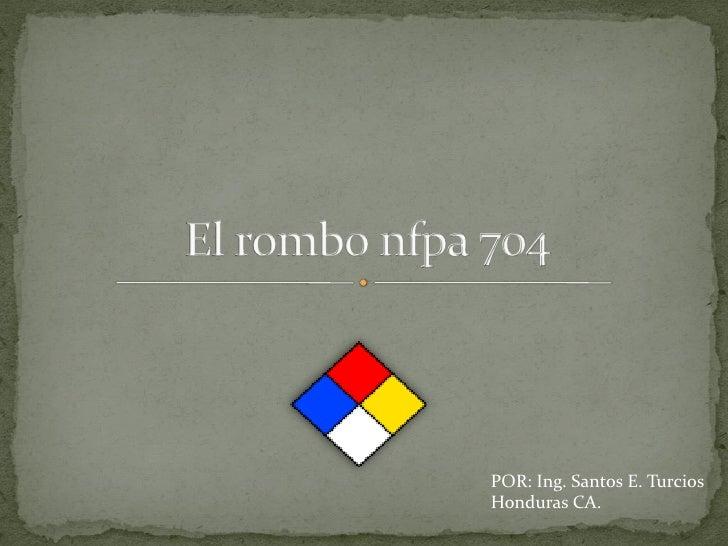 POR: Ing. Santos E. TurciosHonduras CA.