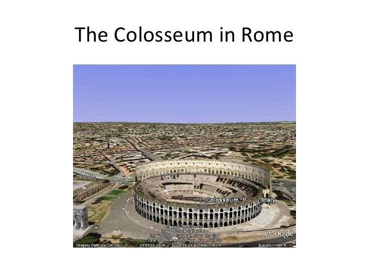 The Colosseum in Rome<br />