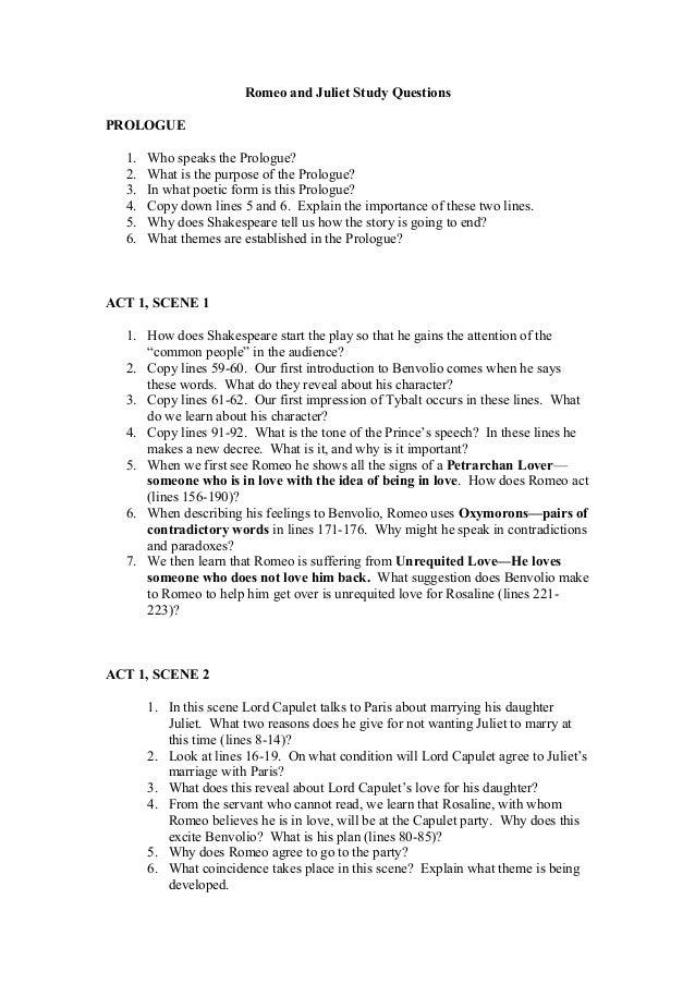 Shakespeare Romeo And Juliet Love Essay Topics - image 8