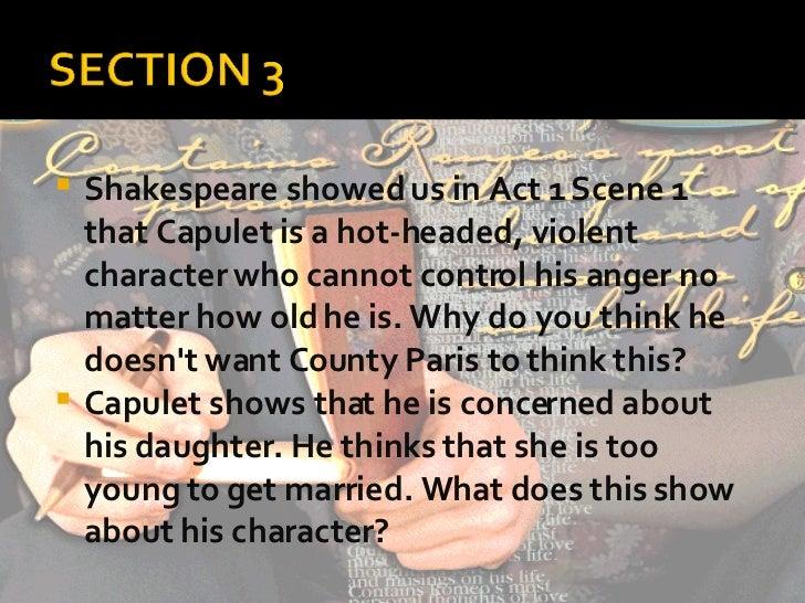 Capulet essay