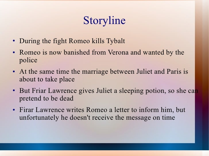 Romeo and juliet newspaper article
