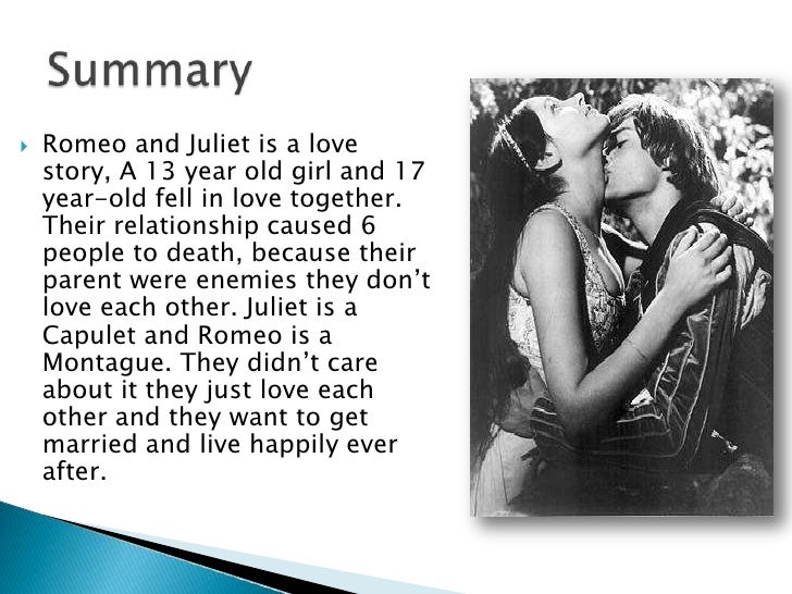 romeo and juliet relationship