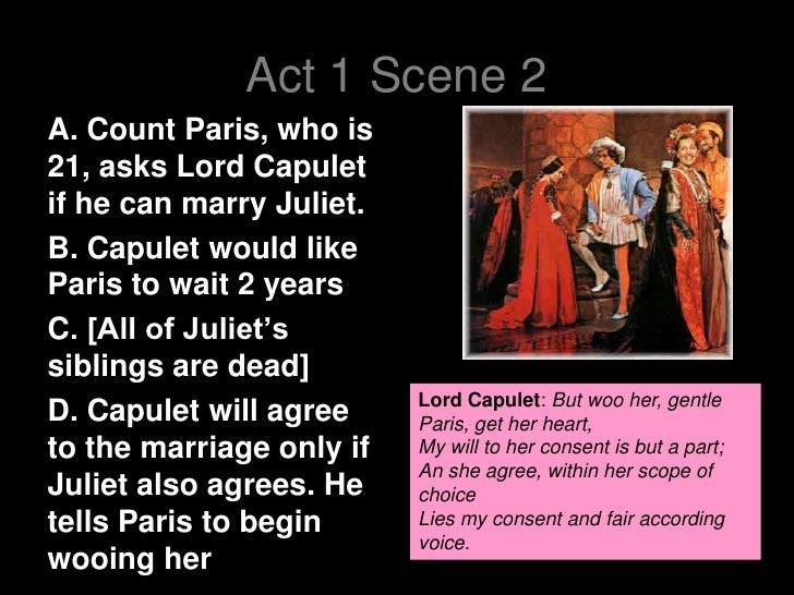 act 1 scene 5 essays For my ioc commentary i have been given the extract from act 1 scene 5 from the play romeo and juliet this is one of the most famous and important scenes.