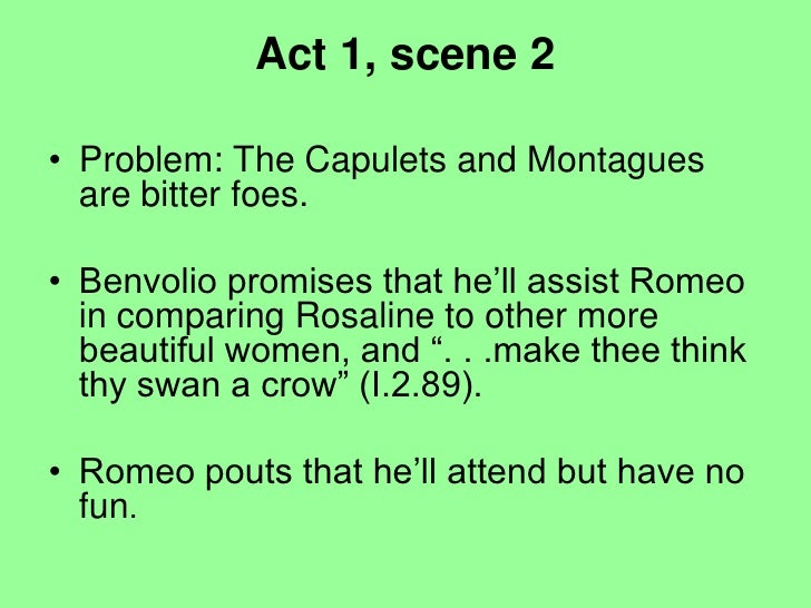 Conflict in romeo and juliet essay