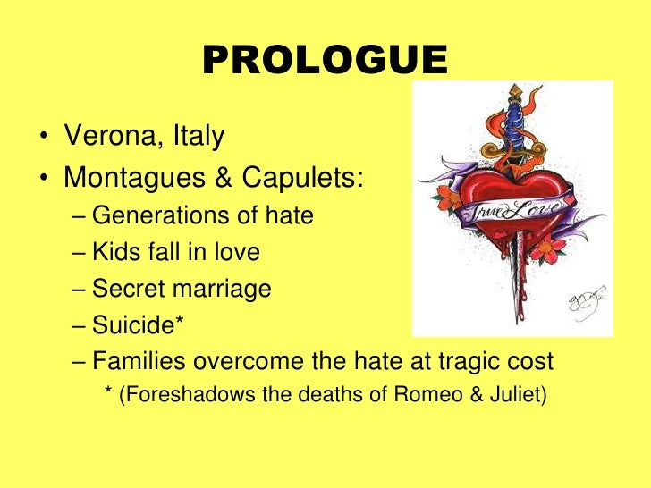 the development of the tragedy in the famous story of romeo and juliet Ever wondered how romeo and juliet follows the standard plot of most stories come on in and read all about it.