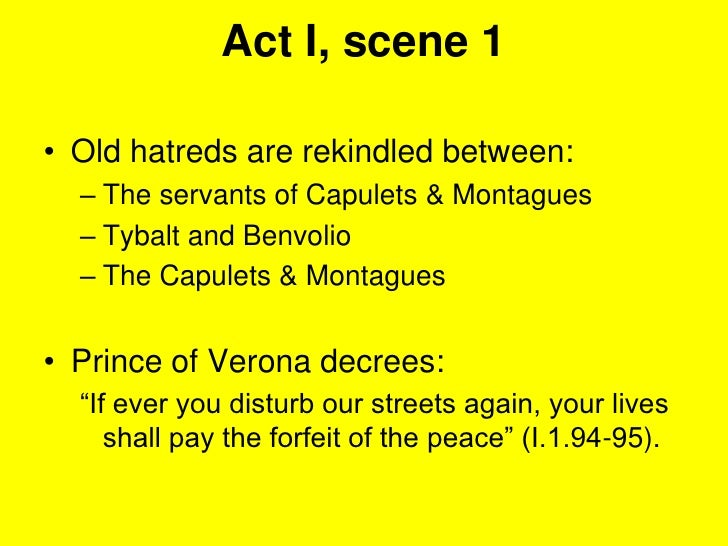 romeo and juliet conflict in act 1 scene 1 essay Free summary and analysis of the quotes in act 1, scene 1 of romeo and juliet that won't make you snore we promise.