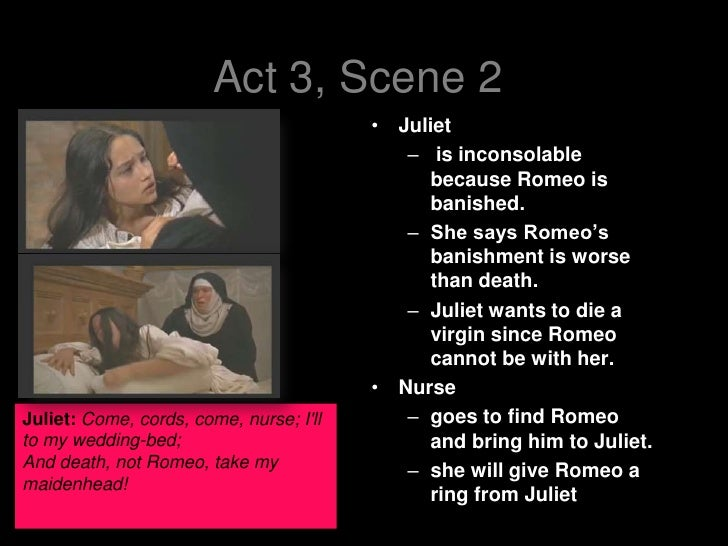 romeo and juliet conflict act 1 scene 3 In this scene, tybalt technically starts the conflict, by wanting to fight with romeo then the capulets tell tybalt to enjoy the party instead of making a bigger conflict act 1- scene 2/3 paris wants to marry juliet mrcapulet thinks he should wait 2 more years until she is ready.
