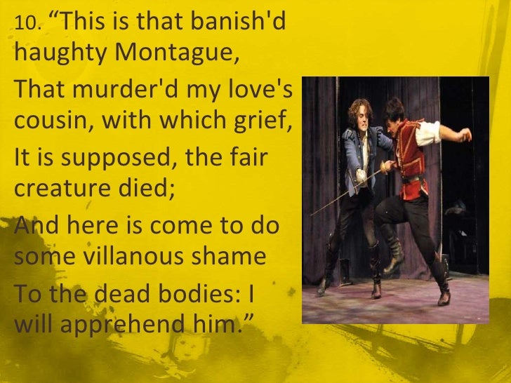 haste and disregard in romeo and