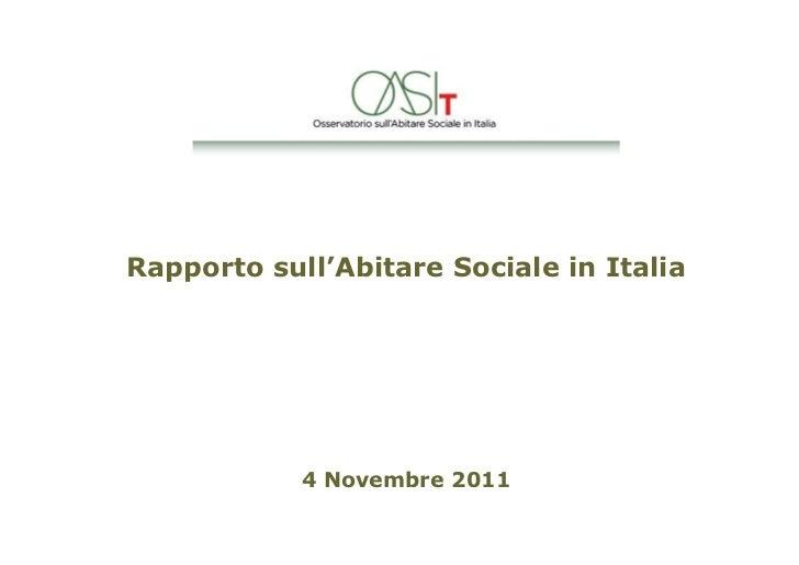 Romeo Gestioni: rapporto-abitare sociale