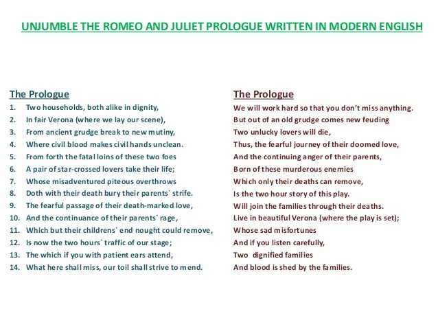 Romeo And Juliet Prologue Worksheet Worksheets For School ...