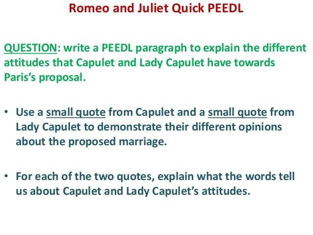 critique of romeo and juliet the Indeed, romeo and juliet was an experimental stage piece at the time of its composition, featuring several radical departures from long-standing conventions these innovative aspects of the play .