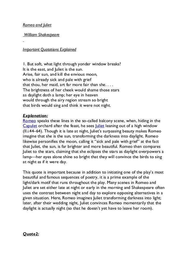 ... Логистик» » Shakespeare romeo and juliet essay help