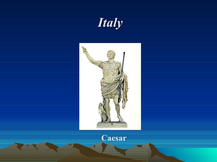 Italy     Caesar