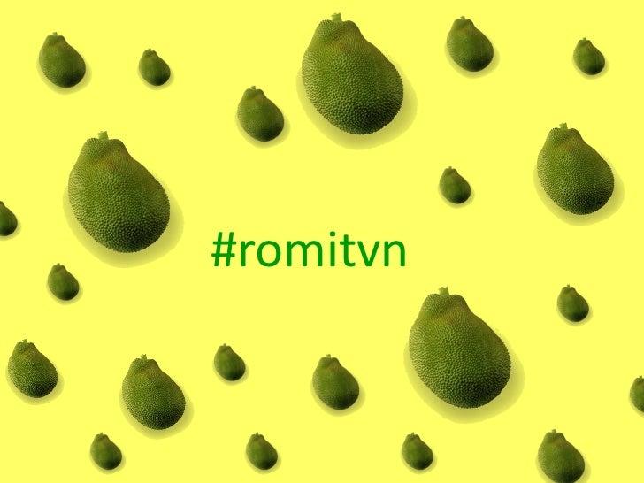 #romitvn