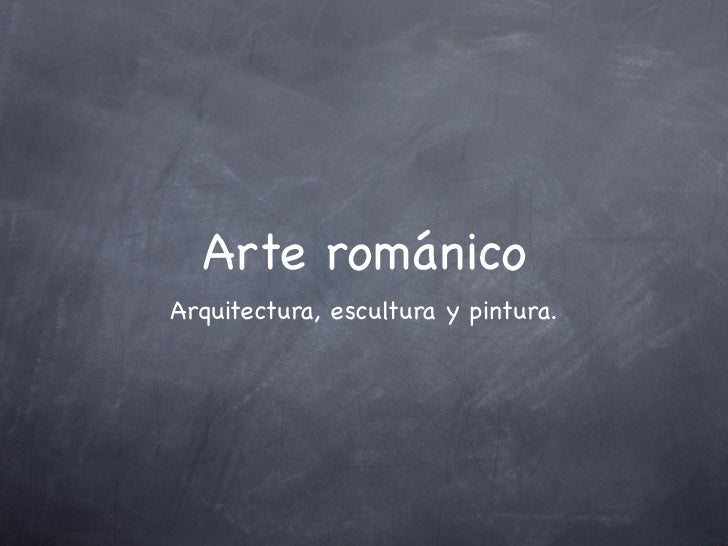 Románico.