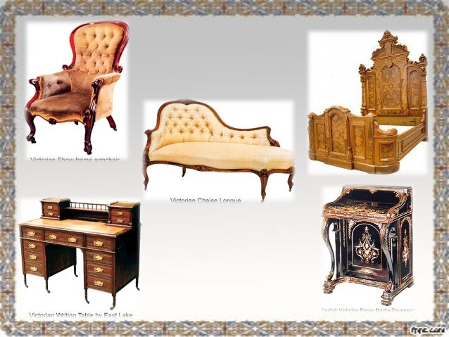 Mueble rom ntico ingl s victoriano - Estilos de mobiliario ...