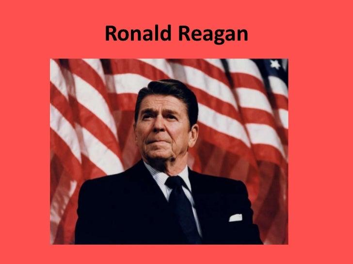 Ronald reagan intro
