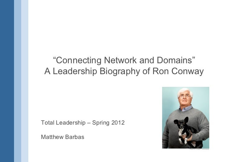 Ron Conway by Matthew Barbas
