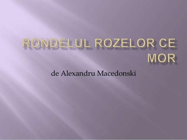 de Alexandru Macedonski