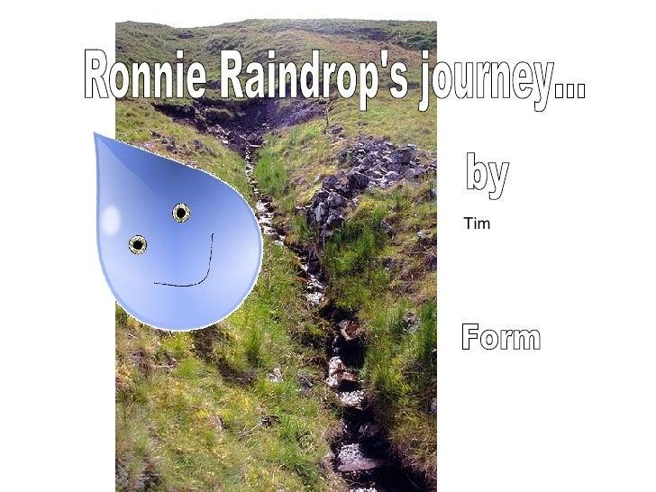 Ronnie Raindrops Journey