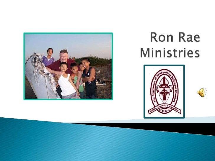Ron Rae Ministries<br />