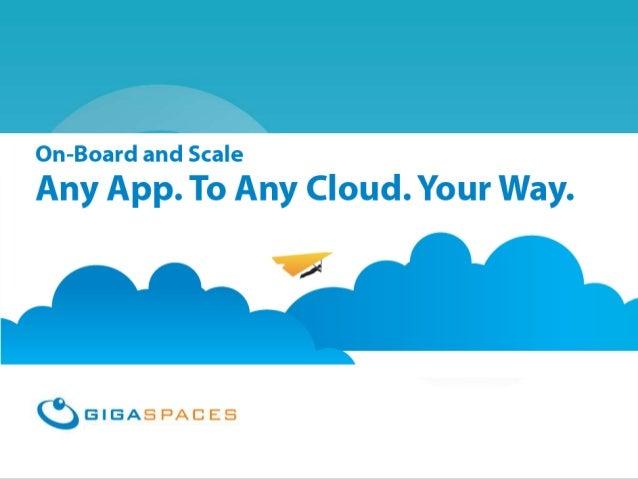 Intro to Cloudify