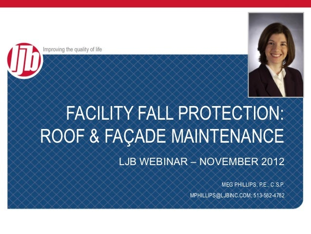 Facility Fall Protection: Roof and Facade Maintenance