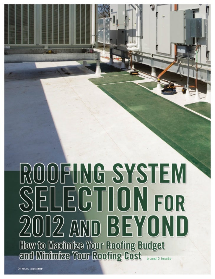 Roofing System Selection