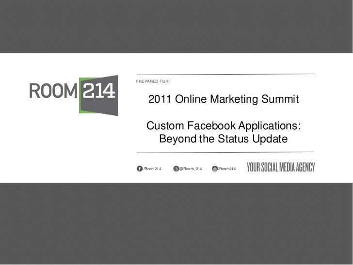 Custom-facebook-applications
